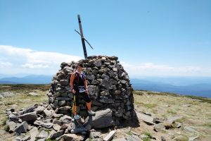 At Mt Bogong Summit