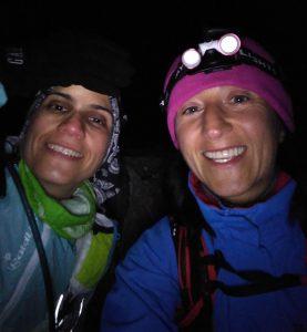 At the Mt Hotham summit