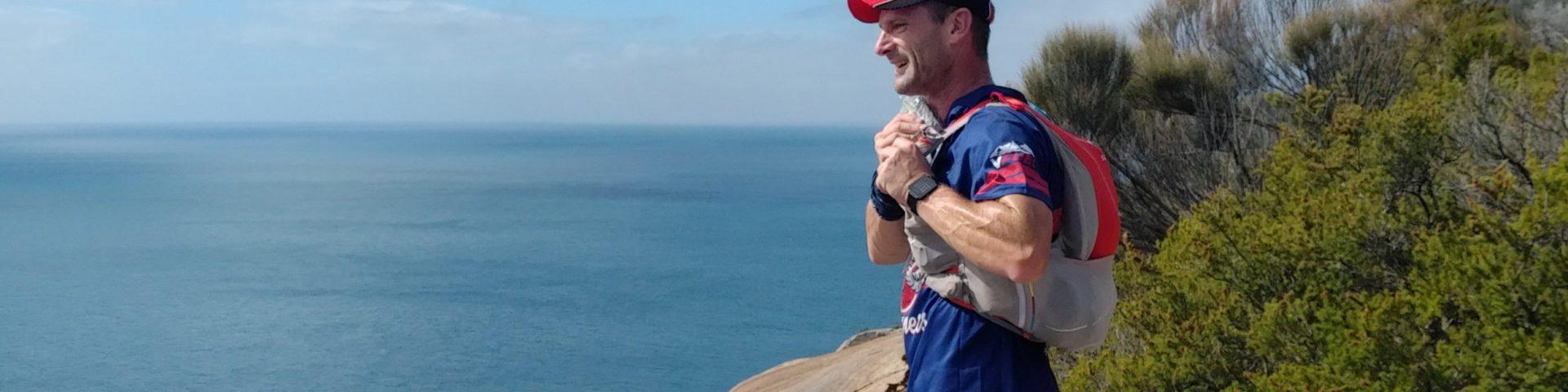 David looking towards Refuge Cove