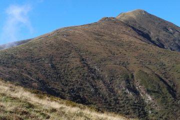 Going up to Monte Bregagno